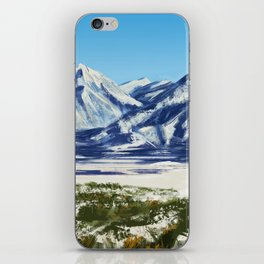 The Wasatch Front iPhone Skin