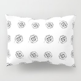 Passion flowers sketched Pillow Sham