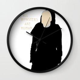 All Monsters Are Human - Sister Jude - AHS: Asylum Wall Clock