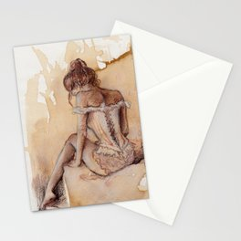 'Decolletage' Stationery Cards