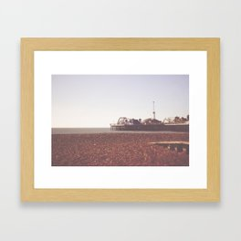 Brighton Framed Art Print