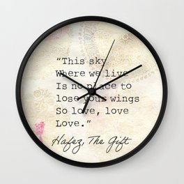 Hafez, The Gift Wall Clock