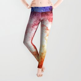 Spiral galaxy Leggings