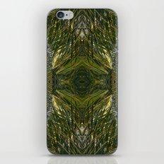 Coconut Leaf Collage 3 iPhone & iPod Skin