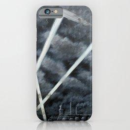 The Zeppelin Menace iPhone Case