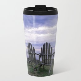 Sunset for Two, Mendocino Travel Mug