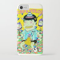 cafe iPhone & iPod Cases featuring cafe veloz by ALVAREZ