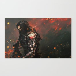 Blood in the Breeze Canvas Print