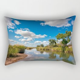 Kruger Park Landscape Rectangular Pillow