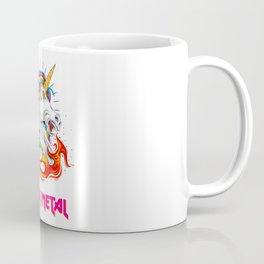Heavy Metal unicorn Coffee Mug