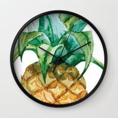 Pineapple , tropical , hawaii , summer , fruit , Wall Clock