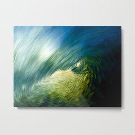 Motion Blur - Encinitas, CA Metal Print
