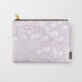 Lilac Lily Carry-All Pouch