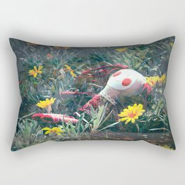 Molly in the Sunshine Field Rectangular Pillow