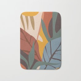 Abstract Art Jungle Bath Mat