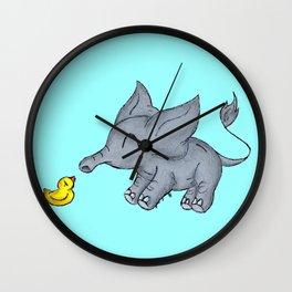 Ducky Buddy Wall Clock
