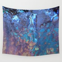 mug Wall Tapestries featuring Waterfall  by Lena Weiss