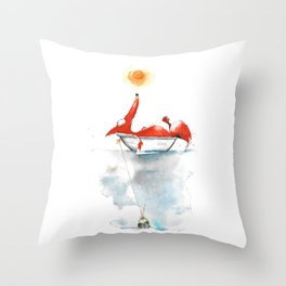 Moment mal. Throw Pillow