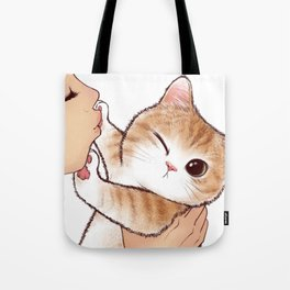 want to kiss Tote Bag