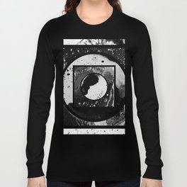 Abstract Geometric Studies In Black And White Long Sleeve T-shirt