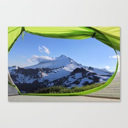 Baker, Tent View Canvas Print