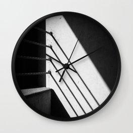 Garagescape Detail 1 Wall Clock