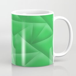 Green Poly Coffee Mug