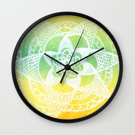 Rasta Lace Wall Clock