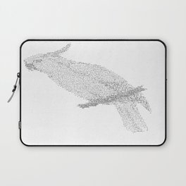 ASCII Cockatoo Laptop Sleeve