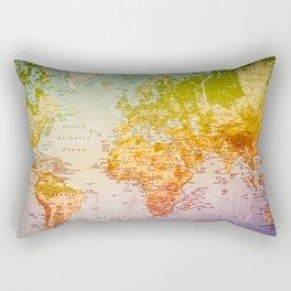 Colorful World Rectangular Pillow