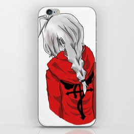 Edward Elric (don't forget 3.oct.11) iPhone Skin