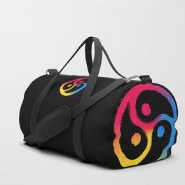 BDSM Triskelion Pansexual Pride Duffle Bag