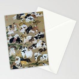 Ito Jakuchu - Hundred Dogs - Digital Remastered Edition Stationery Cards