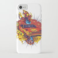 muscle iPhone & iPod Cases featuring Muscle by Tshirt-Factory
