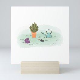 Gardener's Palette Mini Art Print