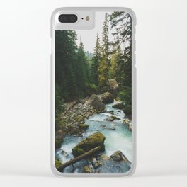 White Chuck River - Pacific Crest Trail, Washington Clear iPhone Case