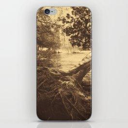 Mist on the River iPhone Skin