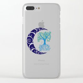 Chaos Tree Clear iPhone Case