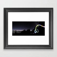 Close Encounter Framed Art Print
