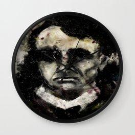 Charles Baudelaire portrait gothique vintage victorien Wall Clock