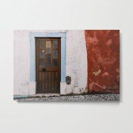 Door No 1 Metal Print