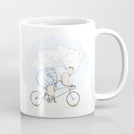 Fat cyclist Coffee Mug