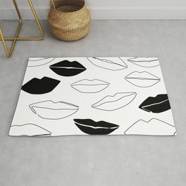 Dark Kisses Rug