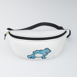 TEDDY BEAR PUSH UP Fitness Gym Squad Sport Fanny Pack