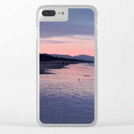 Sunset on the Coast Clear iPhone Case