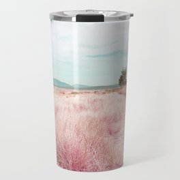 Coastal trail - blush Travel Mug