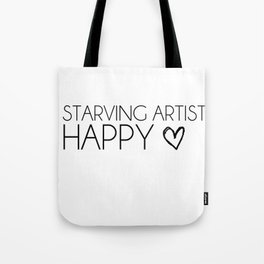 Starving Artist Tote Bag