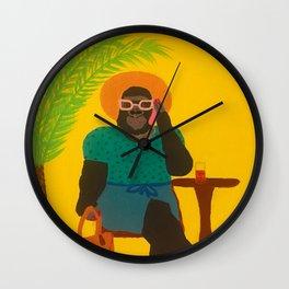 Gloria Gorilla Wall Clock