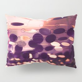 GLAM CIRCLES #Purple #1 Pillow Sham