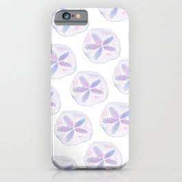 Mermaid Currency - Purple Sand Dollar iPhone Case